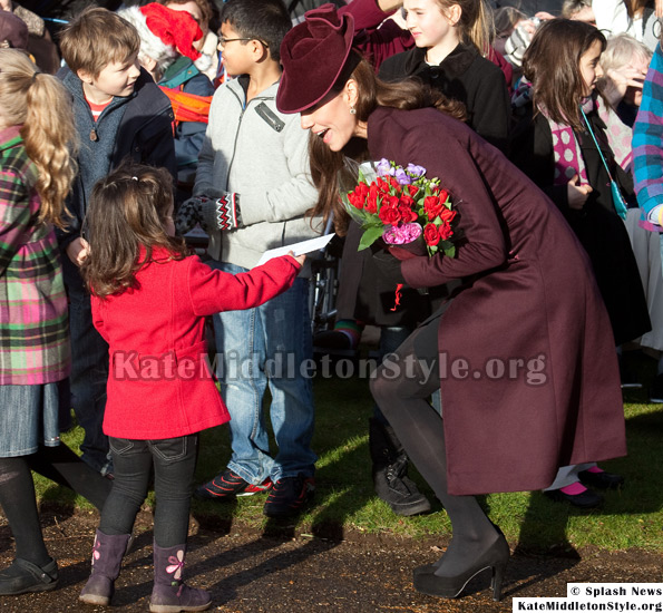 kate middleton christmas day