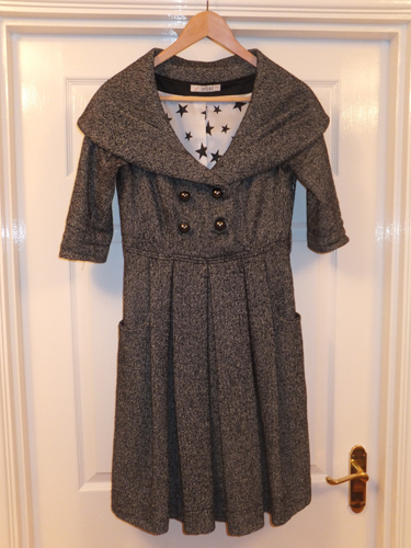 The grey Jesire coat dress for sale at eBay