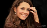 Duchess of Cambridge Visits Liverpool Charities on Valentines Day.