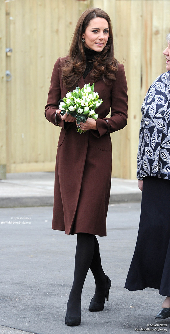 The Duchess of Cambridge wore Hobbs and Oasis for her visit to Liverpool