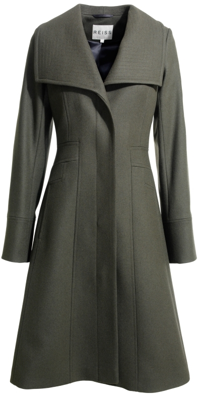 Reiss Angel Fit and Flare Coat