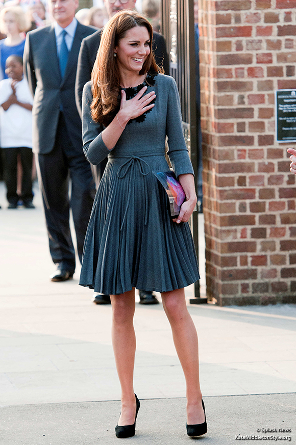 Kate's outfit for the Dulwich Picture Gallery Visit