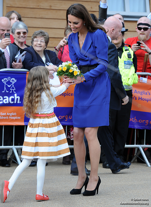 The Duchess of Cambridge visits and formally opens EACH's Treehouse hospice.