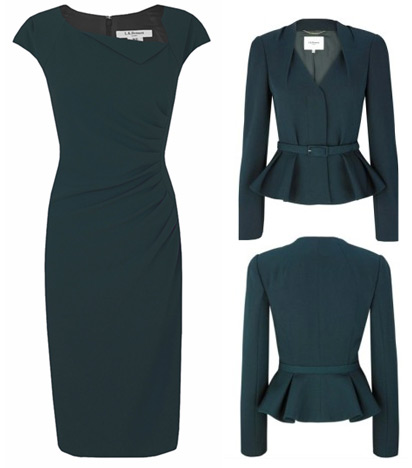 L.K. Bennett Jude Jacket and Davina Dress