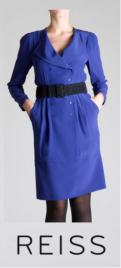 Blue Reiss Dress