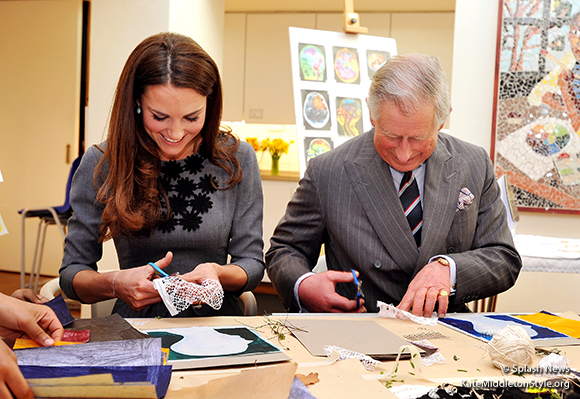 The Duchess of Cambridge and Prince Charles