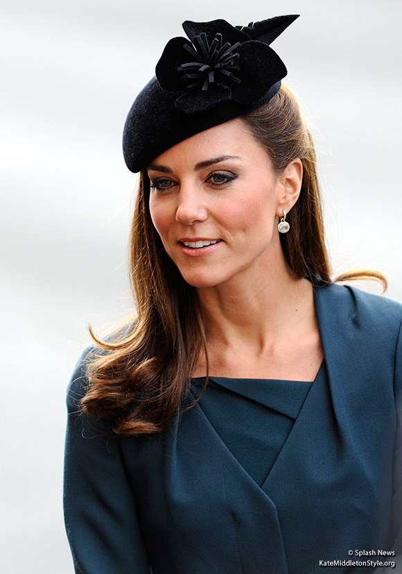 The Duchess of Cambridge visits Leicester as part of The Queen's Diamond Jubilee.