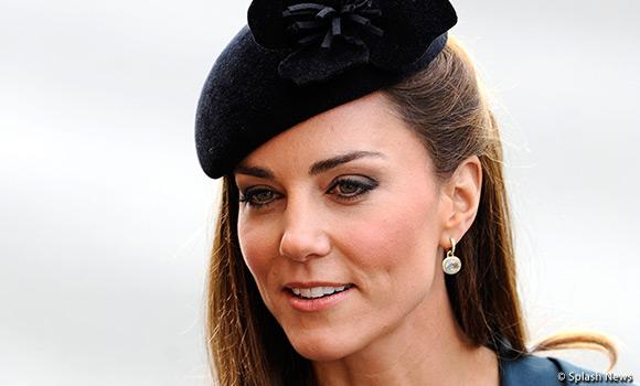Kate visits Leicester wearing teal L.K. Bennett Davina Dress & Jude Jacket