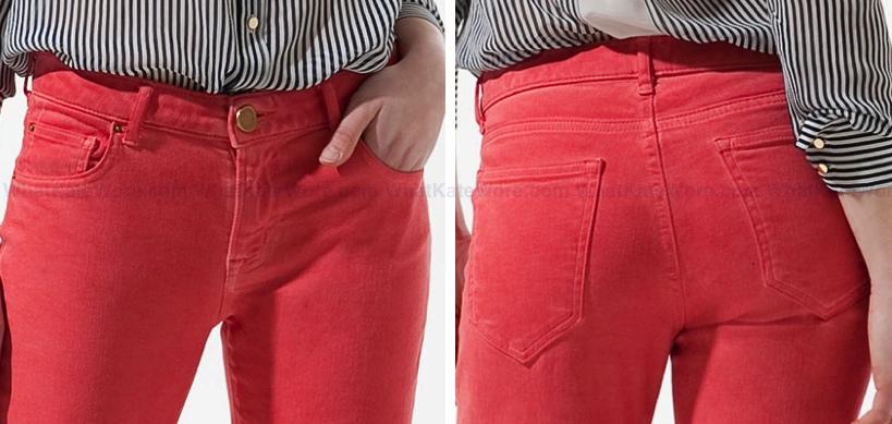 Zara Pop Slim Fit Jeans, As Seen On The Duchess of Cambridge