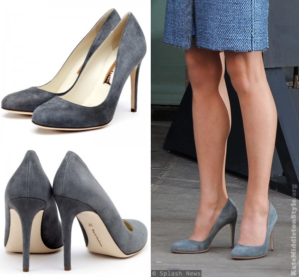 The Duchess wears Rupert Sanderson Malone pumps