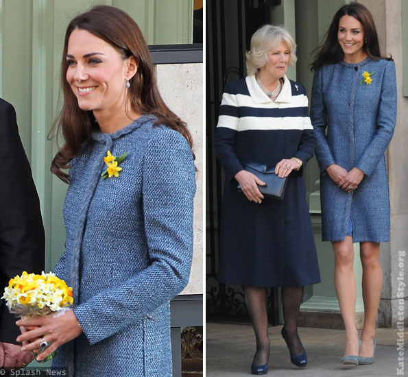 Kate Middleton's outfit at Fortnum and Mason