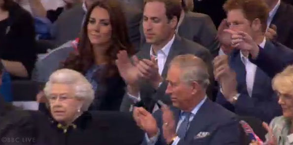 kate and william at the jubilee concert