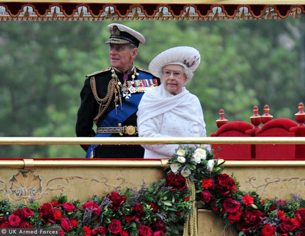 queen at the river pageant