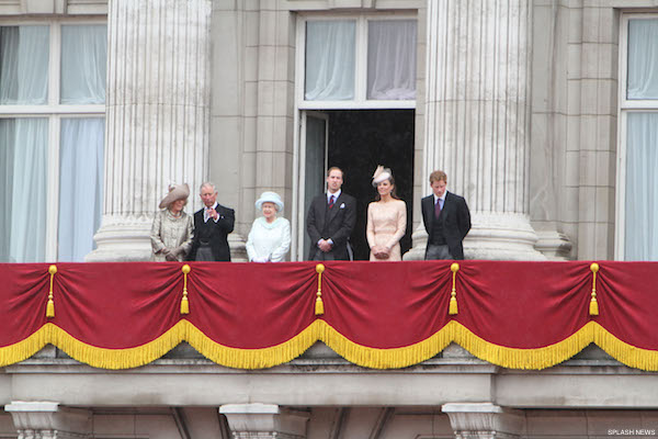 Members of the Royal Family join the Jubilee celebrations at the Mall in London, UK.