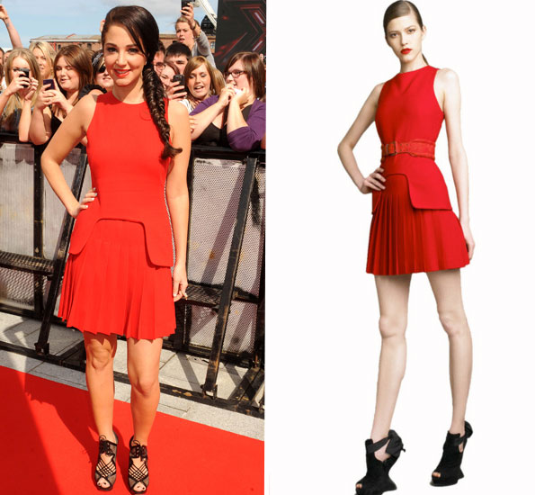 tulisa red mcqueen kate