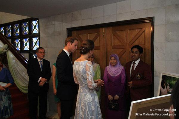 Duchess of Cambridge in Malaysia