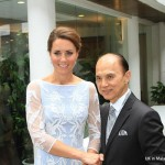 Kate Middleton meets Jimmy choo