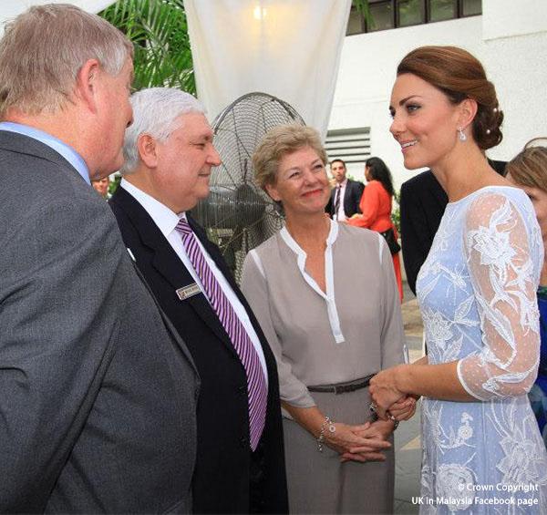 Duchess of Cambridge visits