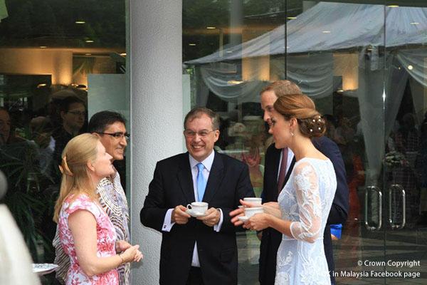 Duchess of Cambridge attends Jubilee tea party