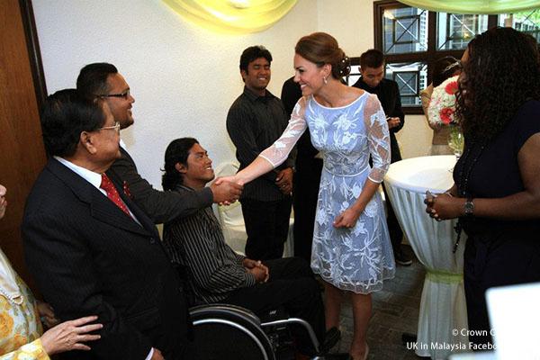Duchess of Cambridge visits Malaysia