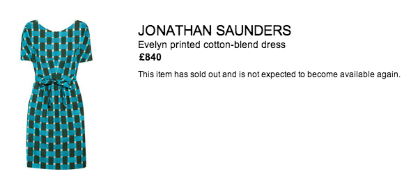 Jonathan Saunders Evelyn