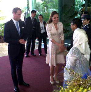 Day One: Will and Kate arrived in Singapore for Jubilee tour, then visited Botanic Gardens