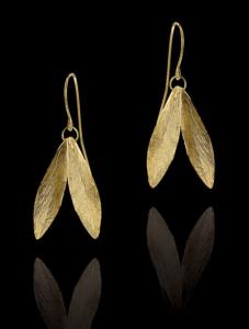 Kate Middleton Gold Earrings