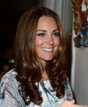 Kate Middleton in Singapore at a reception