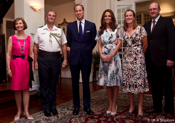kate middleton in singapore