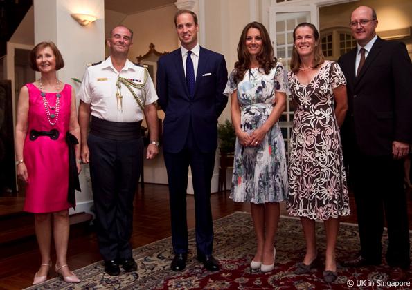 Kate Middleton In Singapore