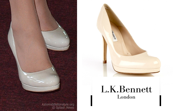 kate middleton white shoes