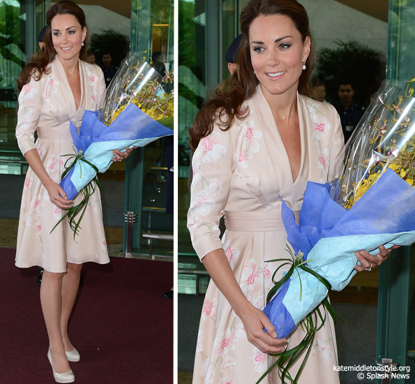 kate orchid dress