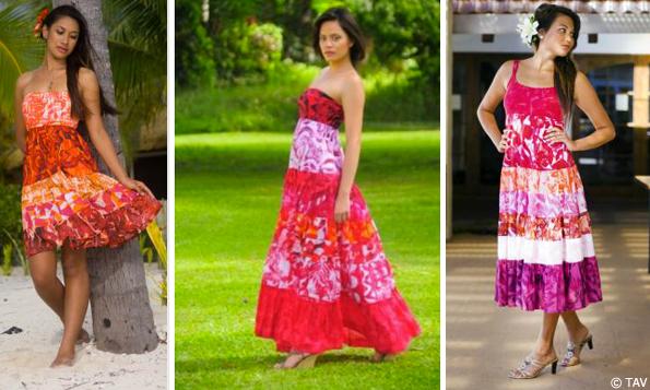 kate pink island print dress