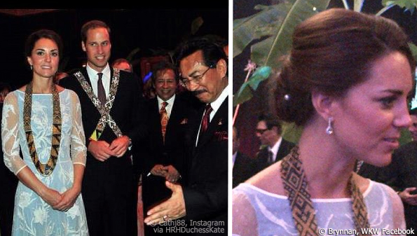 kate and william in sabah