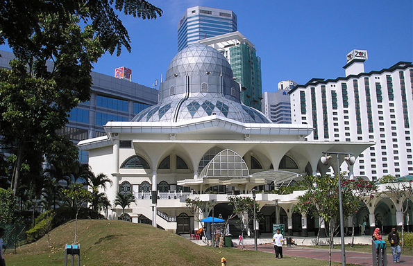 malaysia mosque KL