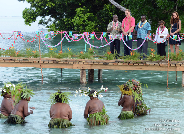 marau welcoming ceremony