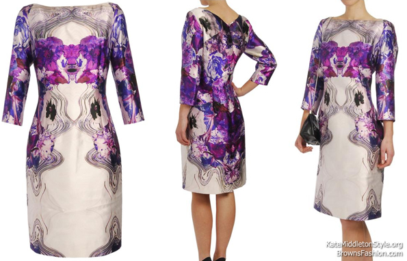 Prabal Gurung print dress