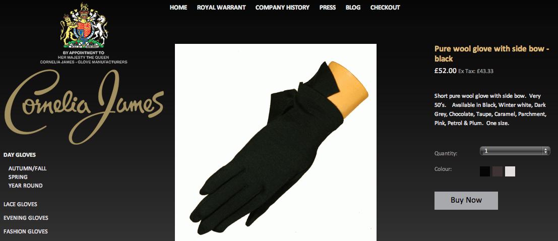 Kate Middleton Gloves