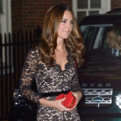 Kate recycles Temperley Amoret dresss for St Andrews' Charity Auction Event