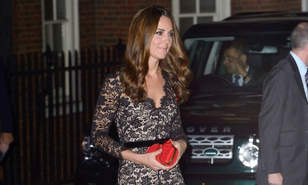 Kate Middleton wore Temperley London Amoret dress to St Andrew's Celebration