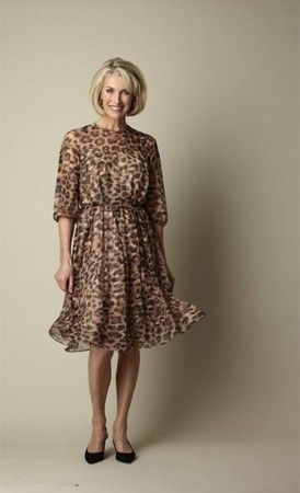 MaxMara Animal Print Dress