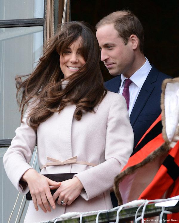 The Duke and Duchess of Cambridge visit Cambridge Guild Hall, Cambridge, UK.