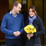 Pregnant Kate left hospital this morning