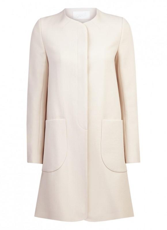 Goat Redgrave coat in nude