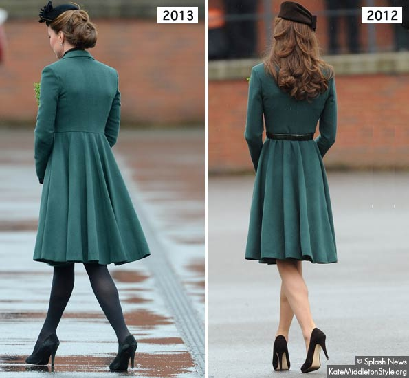 kate middleton's hair at the parade