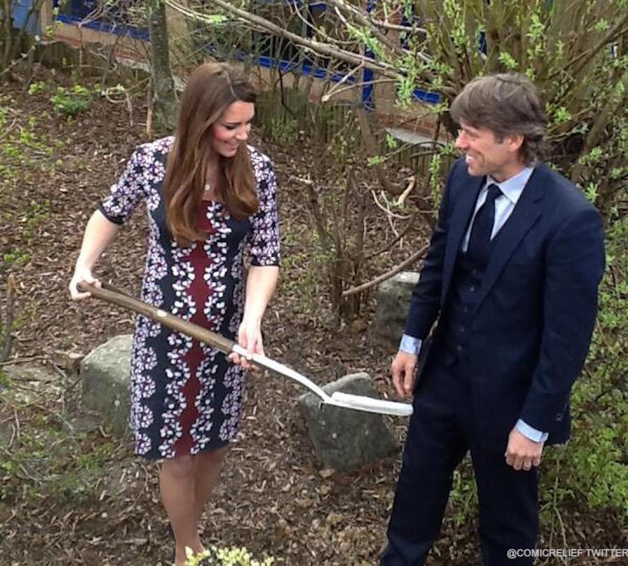 Kate Middleton launching M-PACT plus at a Manchester school in 2013