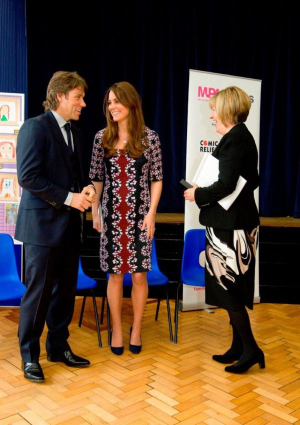 Duchess wears Erdem dress for M-Pact Plus launch in Manchester