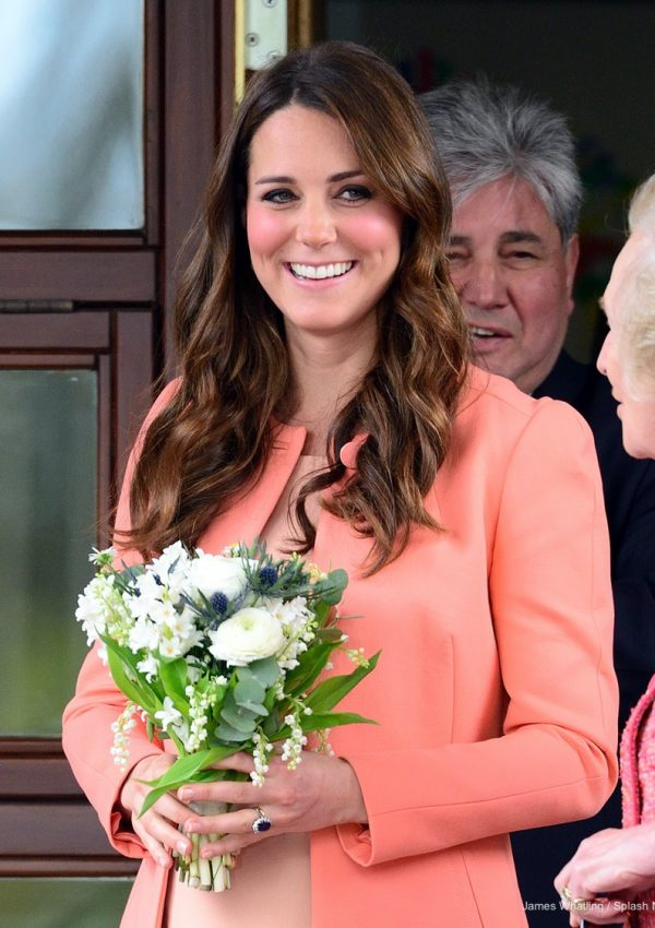 Kate Middleton visiting Naomi House Hospice in 2013