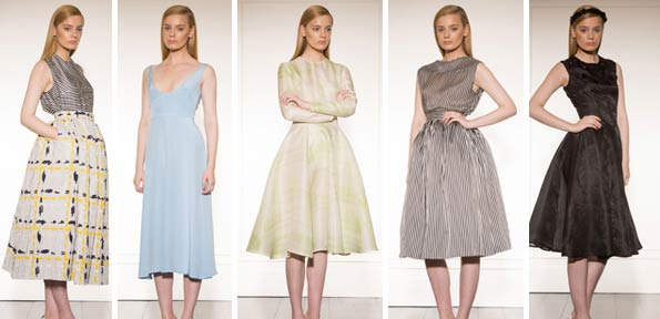 Emilia Wickstead's Spring 2013 dresses