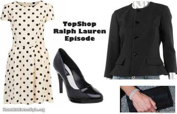 Kate's outfit for the Warner Bros studio tour